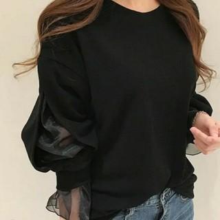 Ameri VINTAGE - バルーン袖 シフォン  トップス  新品未使用
