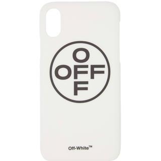 オフホワイト(OFF-WHITE)のオフホワイト off-white  スマホケース iphoneX(iPhoneケース)