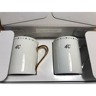 ヨンドシー(4℃)の4°C  ペアマグカップ 新品(グラス/カップ)