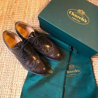 チャーチ(Church's)の定価8.7万 Church's チャーチ ウイングチップ バーウッド(ローファー/革靴)