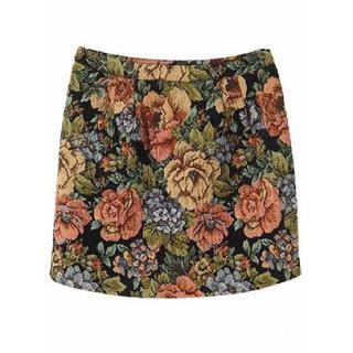 MERCURYDUO - ゴブラン織り コクーンスカート