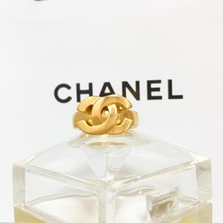 シャネル(CHANEL)のsora-mama様専用 シャネル 指輪 ゴールド ココマーク ムーブ スイング(リング(指輪))