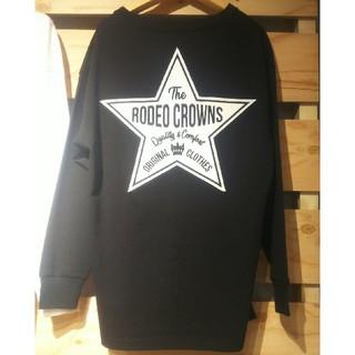 ロデオクラウンズワイドボウル(RODEO CROWNS WIDE BOWL)のテラ松ロンTブラックRX(Tシャツ(長袖/七分))