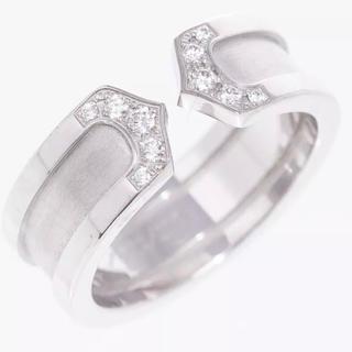 カルティエ(Cartier)のドゥカルティエ/C2,2C・ダイヤモンドリング・指輪/K18WG/750#50(リング(指輪))