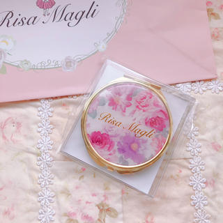 Risa Magli - リサマリ♡新品未使用♡ノベルティー♡コンパクトミラー♡花
