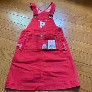 ピンクハウス(PINK HOUSE)のベビーピンクハウス ジャンパースカート  Sサイズ(スカート)
