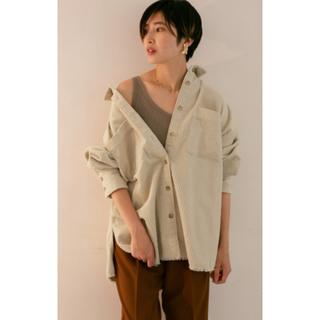 ケービーエフ(KBF)のコーデュロイシャツジャケット(Gジャン/デニムジャケット)