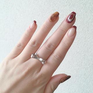 ケイトスペードニューヨーク(kate spade new york)のケイトスペード♡リボンリング(リング(指輪))