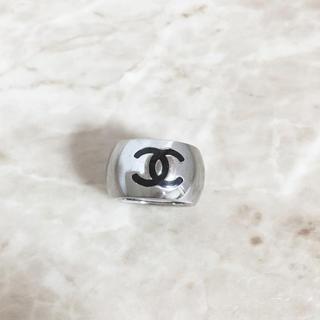 シャネル(CHANEL)の正規品 シャネル 指輪 ハート ココマーク シルバー リバーシブル リング 3(リング(指輪))