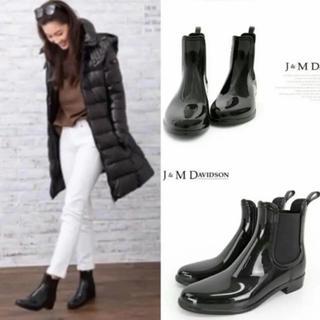 ジェイアンドエムデヴィッドソン(J&M DAVIDSON)の新品⭐️定価23760円/J&M Davidson サイドゴア レインブーツ(レインブーツ/長靴)
