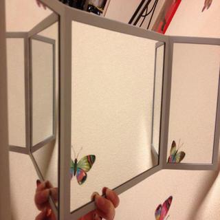 ディオール(Dior)のDior ディオール 三面鏡スタンド(卓上ミラー)