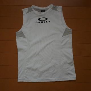 オークリー(Oakley)のたつや様専用!OAKLEY Sサイズ ノースリーブ ホワイト(Tシャツ/カットソー)