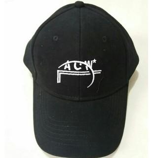 オフホワイト(OFF-WHITE)のA cold wall   アコールドウォール 黒cap キャップ(キャップ)