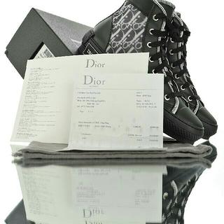 ディオール(Dior)のDior  Oblique High Top Sneakスニーカー27.0cm(スニーカー)