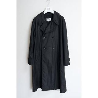 マルタンマルジェラ(Maison Martin Margiela)の大幅値下げ!18ss48 Margiela マルジェラ トレンチコート ブラック(トレンチコート)