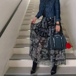 ディーゼル(DIESEL)のディーゼル DIESEL ロングスカート ブラック 2017aw(ロングスカート)