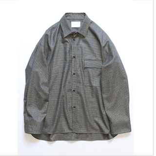 サンシー(SUNSEA)の【定価以下!】stein | OVERSIZED DOWN PAT SHIRT(シャツ)