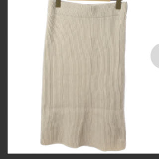 ハイク(HYKE)のHYKEのニットスカート(ひざ丈スカート)