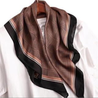 トゥデイフル(TODAYFUL)のsale 新品 新作 千鳥格子 スカーフ 韓国 インポート(バンダナ/スカーフ)