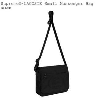 シュプリーム(Supreme)の値下げ!Supreme/LACOSTE Messenger Bag Black(メッセンジャーバッグ)
