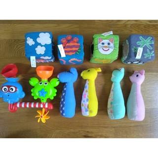フィッシャープライス(Fisher-Price)のフィッシャープライス、サッシャー 赤ちゃんおもちゃまとめ売(知育玩具)