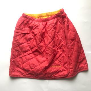 モンベル(mont bell)の美品!montbellモンベル中綿ラップスカート(スカート)