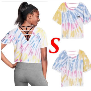 ヴィクトリアズシークレット(Victoria's Secret)のヴィクシー【新品未使用】S オープンバック Tシャツ(Tシャツ(半袖/袖なし))