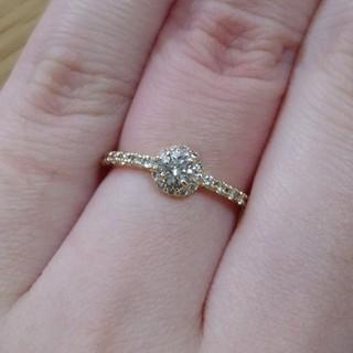 ジュピターゴールドレーベル(jupiter GOLD LABEL)のJUPITER BLANTELIE ダイヤモンドリング(リング(指輪))