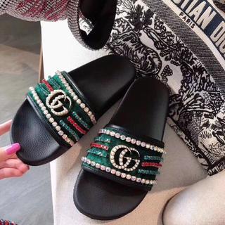 Gucci - グッチ スリッパ サンダルキラキラ