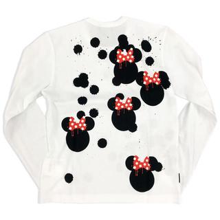 コムデギャルソン(COMME des GARCONS)のブラックマーケットコムデギャルソン blackmarket ミニーマウス ロンT(Tシャツ/カットソー(七分/長袖))