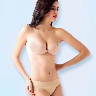 ヌーブラ 水着 ドレス 盛れる  薄型 羽タイプ インナー パッド ブラパッド (ヌーブラ)