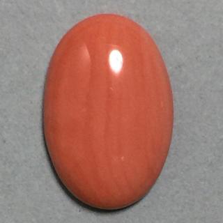 h76 天然 煌 本珊瑚 ルース 9.10 ct 1.82g(リング(指輪))