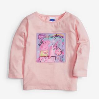 NEXT - 新品!ネクスト ペッパピッグ  長袖Tシャツ ピンク