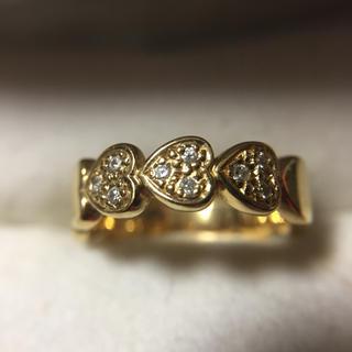 スタージュエリー(STAR JEWELRY)の鑑定済み 正規品 スタージュエリー K18 ダイヤ 指輪  総重量3.5g(リング(指輪))