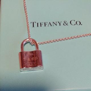 Tiffany & Co. - ティファニー 南京錠(鍵)ネックレス