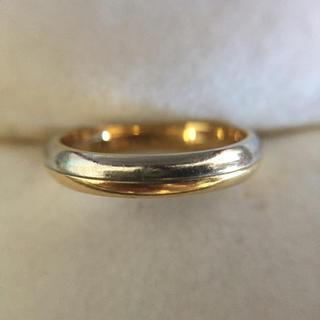 鑑定済み K18 Pt900 指輪  総重量3.3g(リング(指輪))