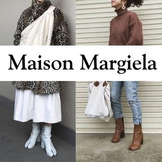 マルジェラ  足袋ブーツ 本革(ブーツ)