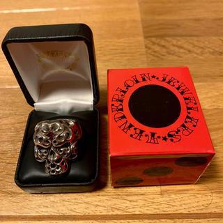 テンダーロイン(TENDERLOIN)の人気品! TENDERLOIN ボルネオスカル リング 指輪 シルバー 925(リング(指輪))