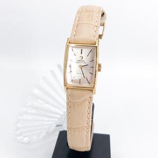 オメガ(OMEGA)の【OH済/仕上済】オメガ デビル ゴールド レディース 腕時計(腕時計)