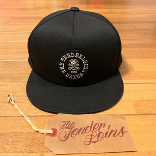 テンダーロイン(TENDERLOIN)の未使用! TENDERLOIN トラッカー キャップ 帽子 ボルネオスカル 黒(キャップ)