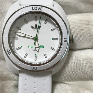 adidas - アディダス スタンスミス 腕時計 クォーツ 電池新品 ホワイト 白ADH3122