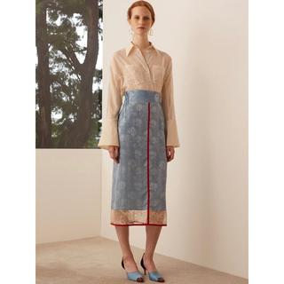 マメ(mame)の◆新品タグ付き・入手困難◆ mame マメ カーネーションウィロースカート 2(ロングスカート)