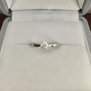 ティファニー(Tiffany & Co.)のティファニー ハーモニー リング Pt950 0.27ct H IF 3EX(リング(指輪))