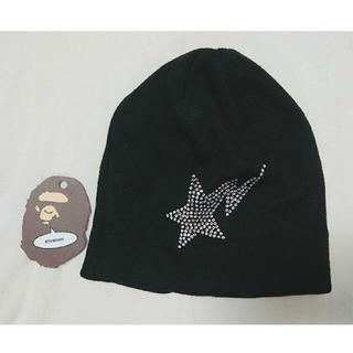 A BATHING APE - ape ビーニー ニット帽