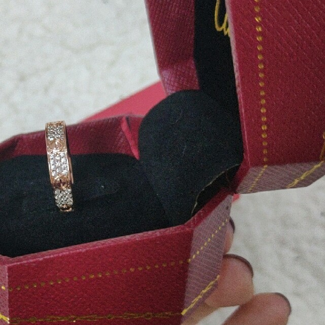 Cartier(カルティエ)のCartier カルティエ リング 美品 レディースのアクセサリー(リング(指輪))の商品写真