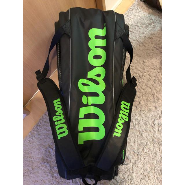 wilson(ウィルソン)のウイルソン テニスバック バンクーバーシリーズ スポーツ/アウトドアのテニス(バッグ)の商品写真