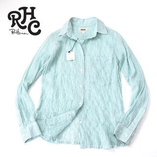 ロンハーマン(Ron Herman)の未使用 RHC ロンハーマン つまみ縫いシワ加工◎ガーゼ生地シャツ(シャツ/ブラウス(長袖/七分))