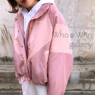 フーズフーギャラリー(WHO'S WHO gallery)のWho's Who gallery♡切替ブルゾン ミスティック イング ラスボア(ブルゾン)