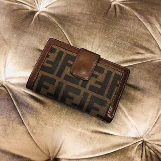 フェンディ(FENDI)のフェンディ ❤️ ヴィンテージ 二つ折り がま口(財布)