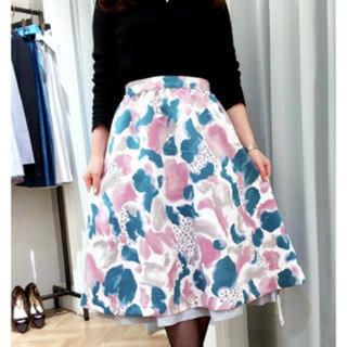 ノエラ(Noela)のNoela/リバーシブルレオパード柄スカート(ひざ丈スカート)